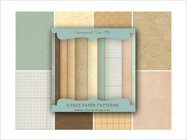 Free Paper Patterns for Photoshop