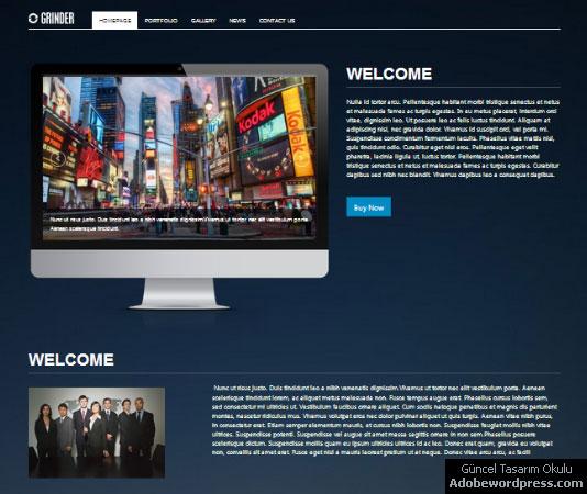Grinder-Corporate WordPress Teması
