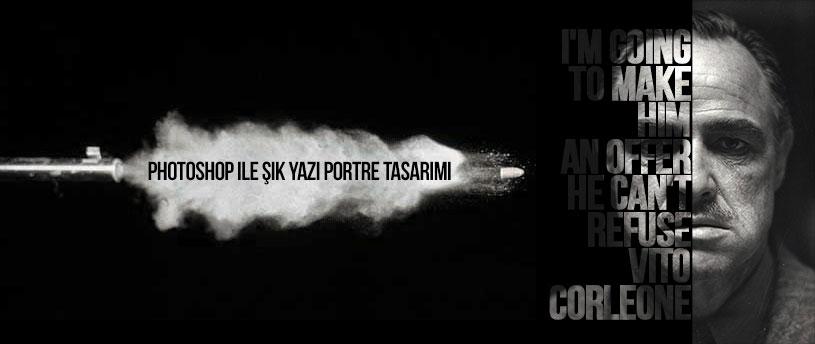 yazi-portre-poster-tasarimi