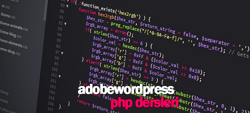 Php-Adobewordpress
