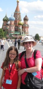 Russia adoption travel