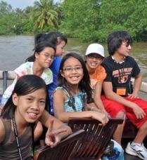 Vietnam Ties adoptees tour the Mekong Delta