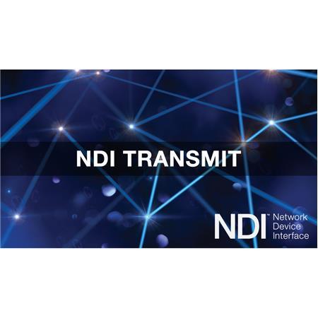NewTek NDI Transmit Switcher Software, Coupon Code, Electronic Download