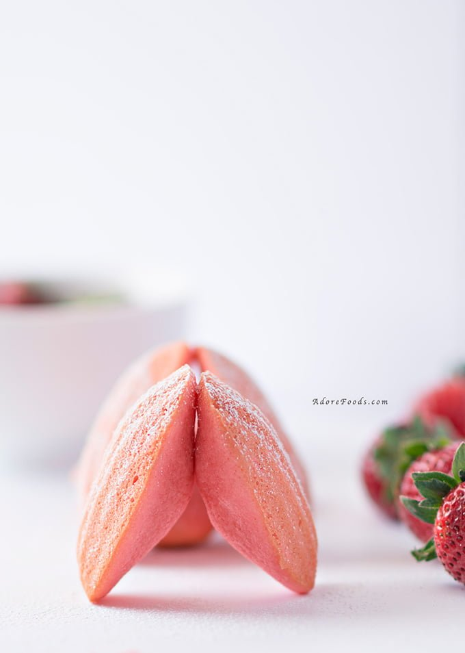 Strawberry Madeleines