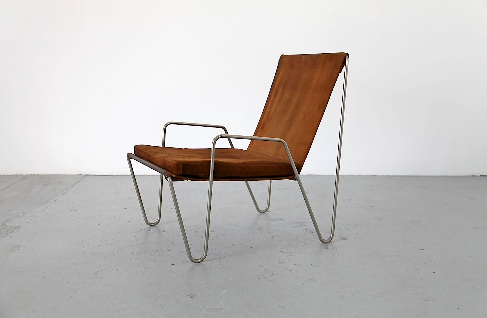 Quotthe Bachelor Chairquot In Brown Leather By Verner Panton