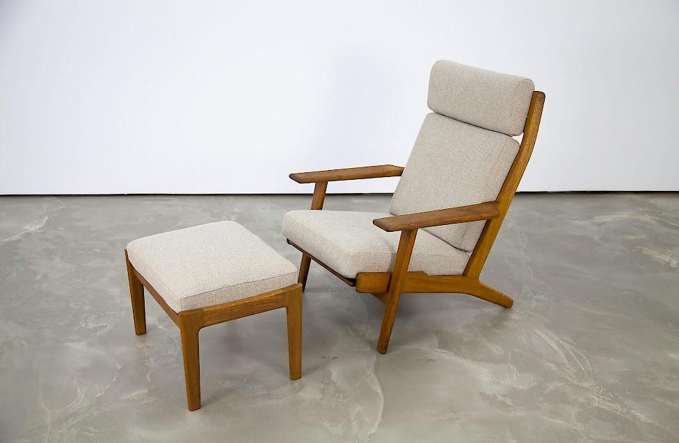 Ge 290 Lounge Chair By Hans J Wegner No2 Adore Modern
