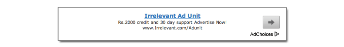 Block Irrelevant Ads to increase CTR