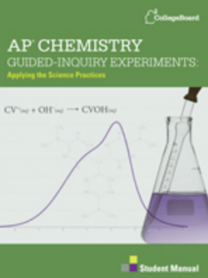 ap chem lab Ap chemistry lab #2 – inquiry acid/base titrations this lab will not be written into your lab notebook, but will be placed into your chemistry binder as a guided inquiry lab.