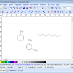 ChemSketch – Student's first attempts 2016