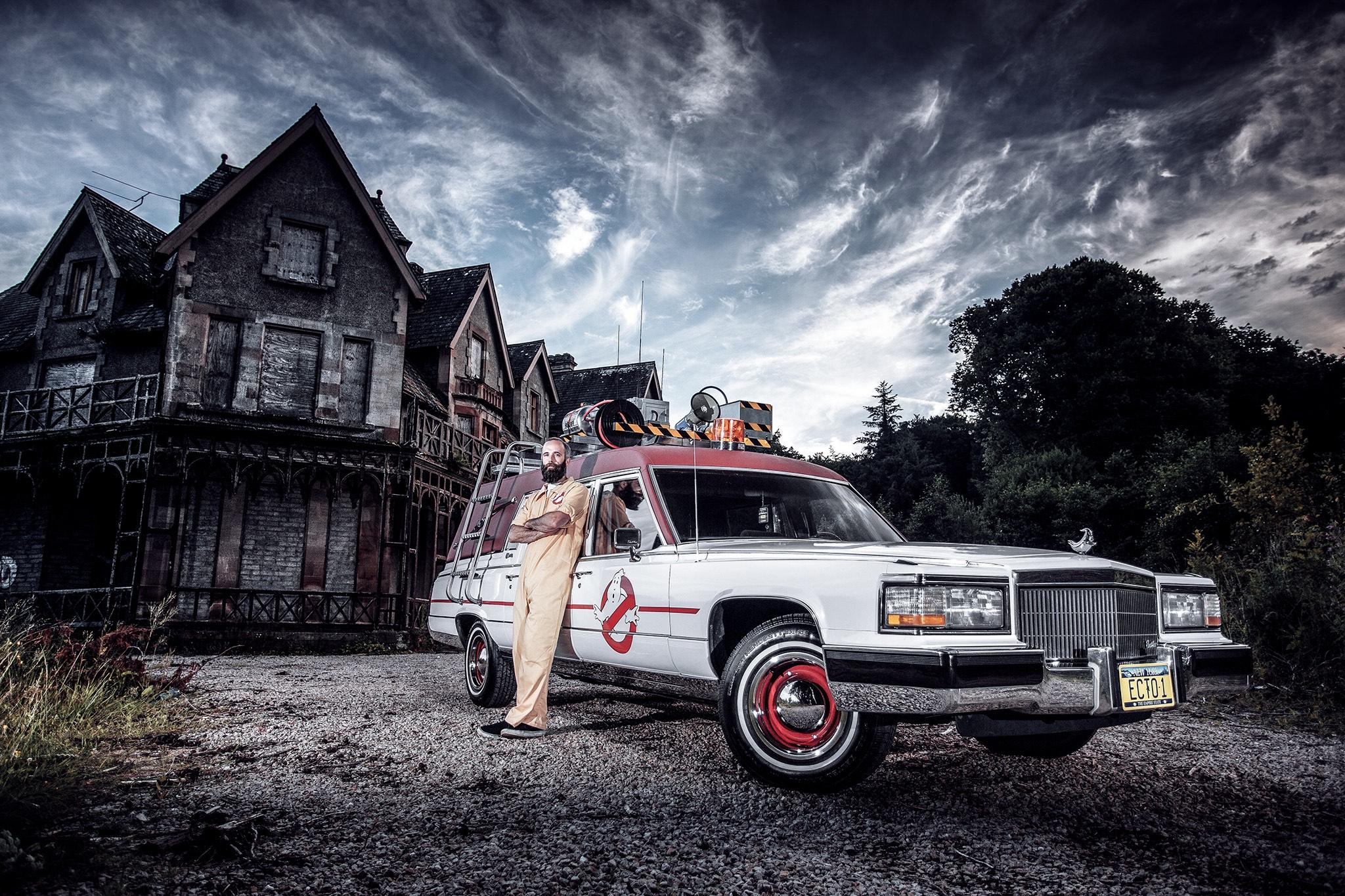 Conor Mcgregor Quote Wallpaper American Hearse Converted Into Ghostbusters Ecto 1