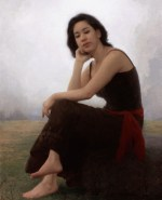"""Elysian Fields, ©2010 By Adrian Gottlieb Exceptional Merit Award, 2010 Portrait Society of America competition, and currently featured on the cover The Artists Magazine, 2011 Calendar Oil on Belgian Linen Size: 24"""" x 36"""""""