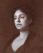 "Piambura of Heather #5 ©2011 By Adrian Gottlieb Oil on Belgian Linen Size: 16"" x 20""  S. R. BRENNEN GALLERIES SOLD"