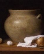 "Spanish Pot. 20""x16"", ©2012 By Adrian Gottlieb.  Oil on Linen."