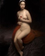 """The Vantage Point, ©2010 By Adrian Gottlieb. 36""""x24"""", oil on linen, SOLD"""