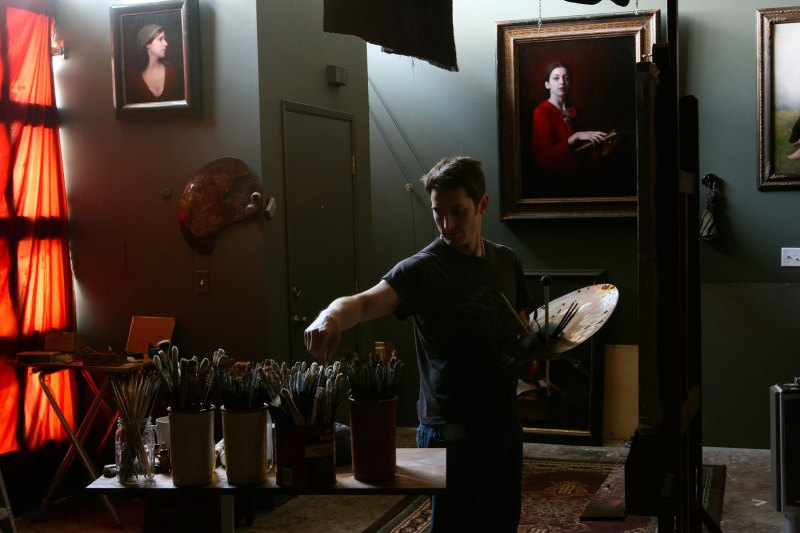 about the painter - adrian gottlieb