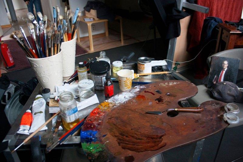 Gottlieb's palette