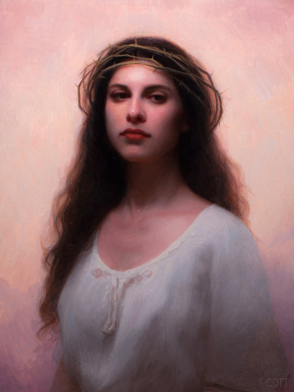 Shadia, 20 x 24 inches, oil on panel by Adrian Gottlieb