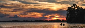 Golden Lake Evening