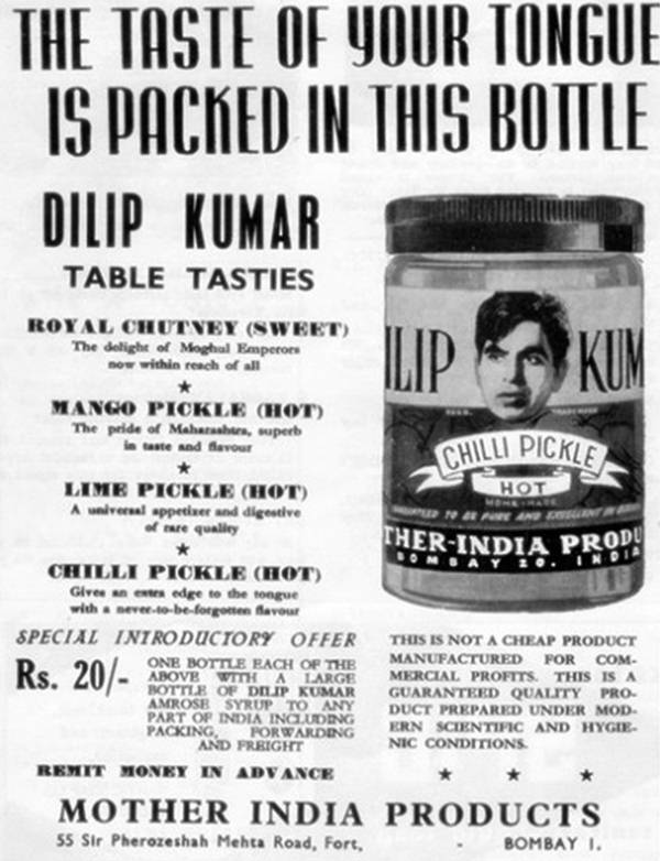 deelip kumar in pickle ad