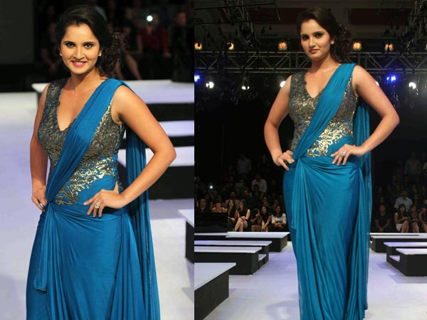 Gown Saree Trends Ad Singh