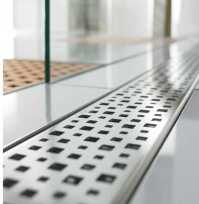 Quartz By Aco Linear Shower Drain Metal Covers - New $390 ...