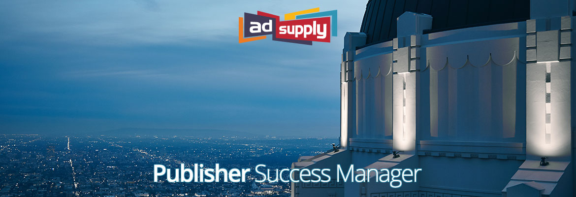 Publisher Success Manager AdSupply