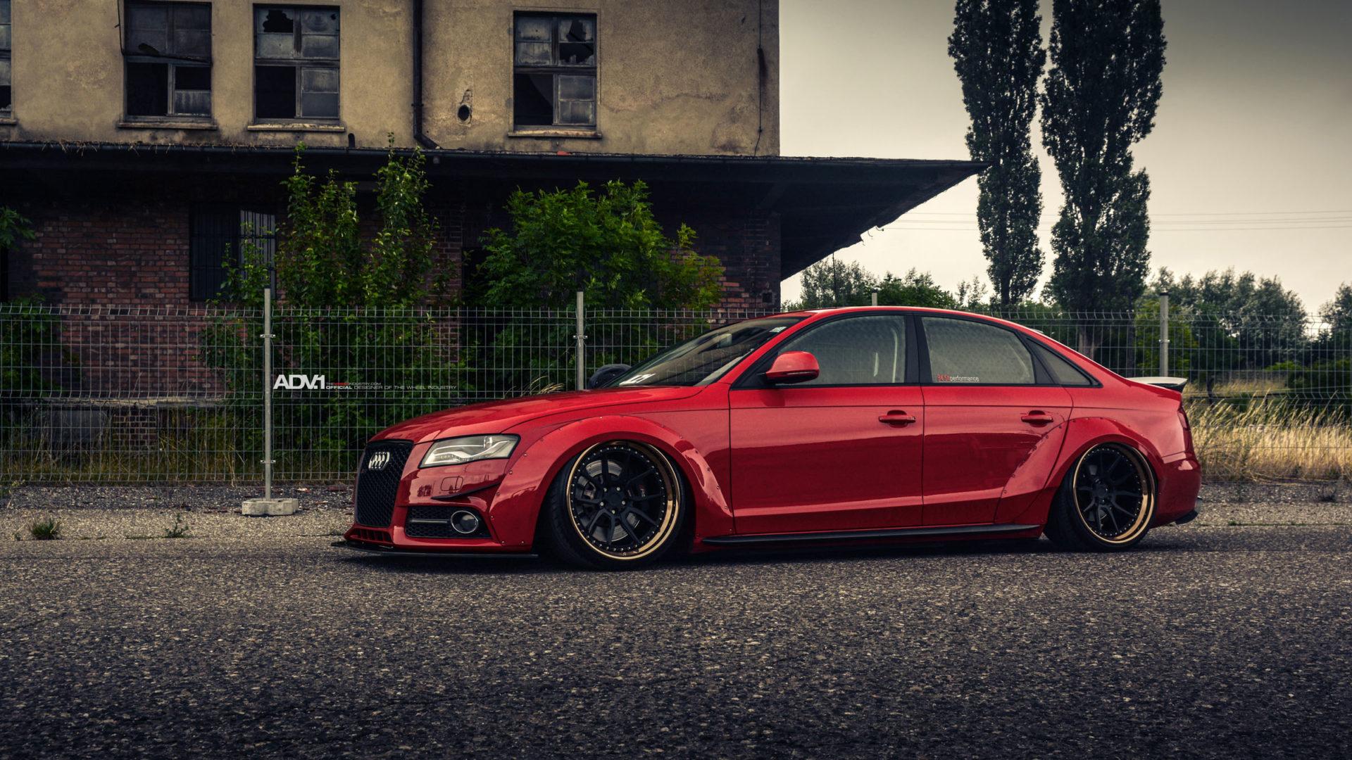 Audi Rs3 Wallpaper Hd Magical Gangsta Widebody Audi A4 Best Performance Adv