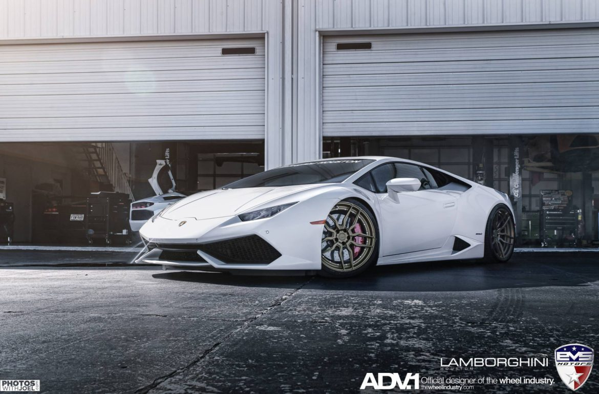white lamborghini huracan adv005 m v2 cs series wheels. Black Bedroom Furniture Sets. Home Design Ideas