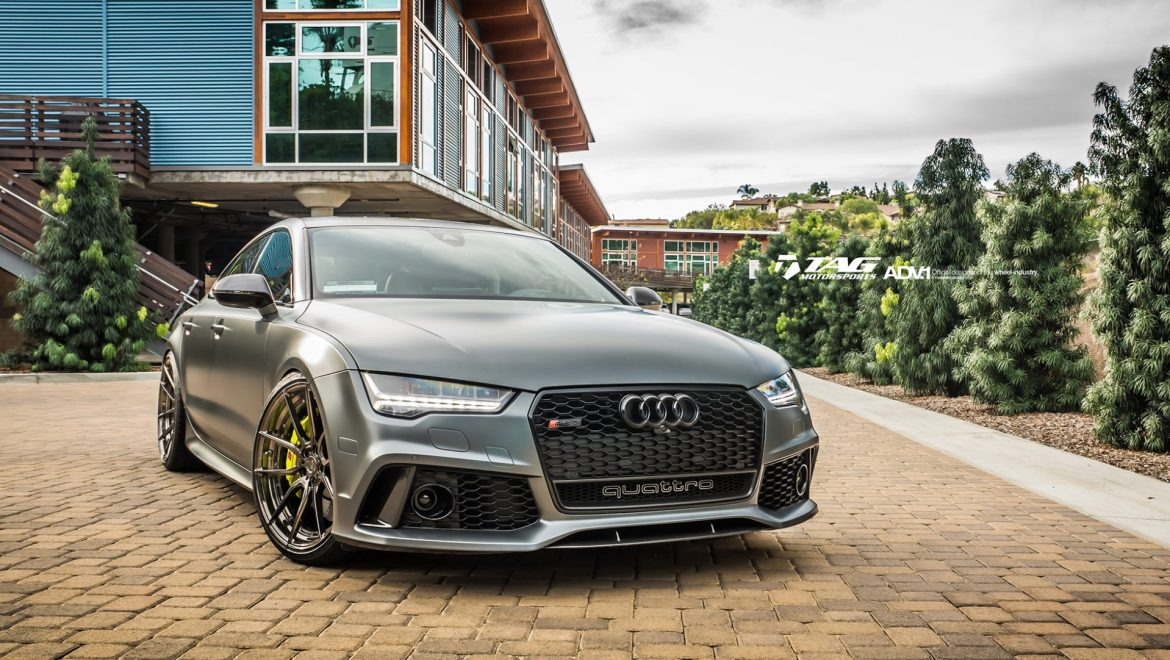 Matte Gray Audi Rs7 Adv5 0 Mv2 Cs Wheels Adv 1 Wheels