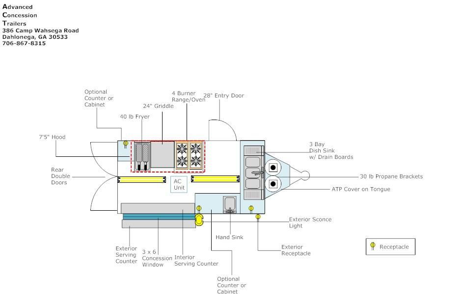 Utility Trailer Schematics Wiring Diagram
