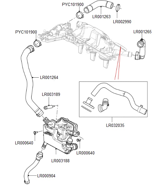 2016 land rover discovery engine coolant