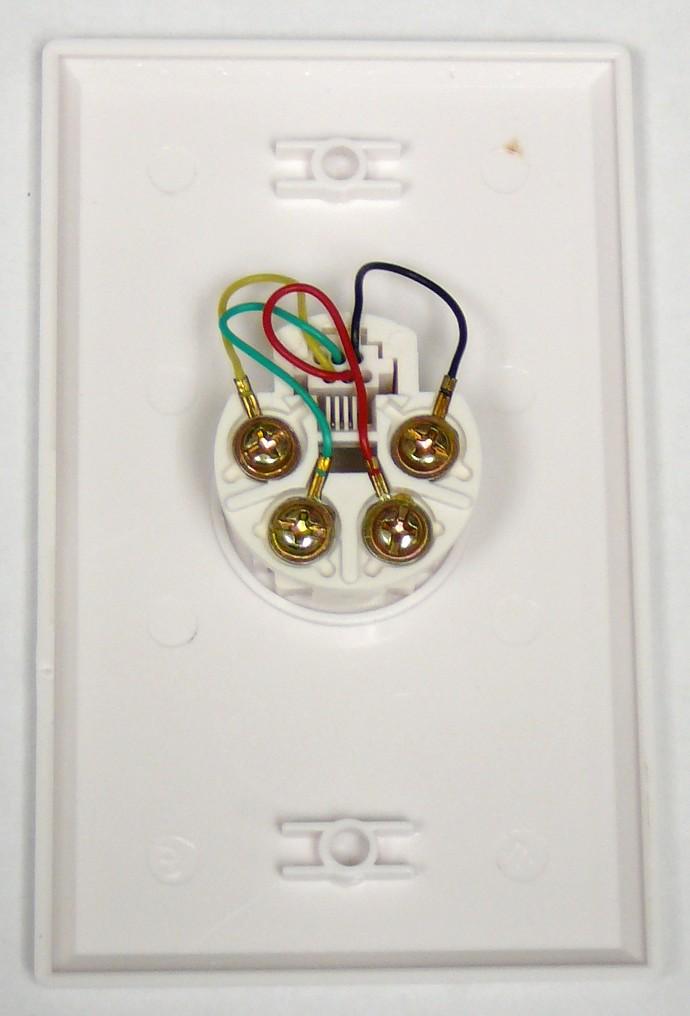 telephone jack wiring color code diagram phone wire diagram wiring