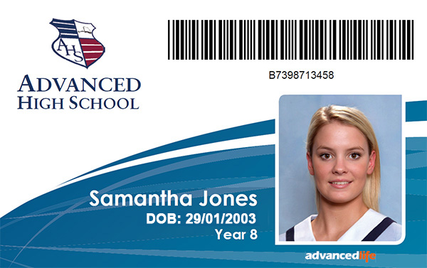 ID Cards advancedlife School Photography and Print Specialists