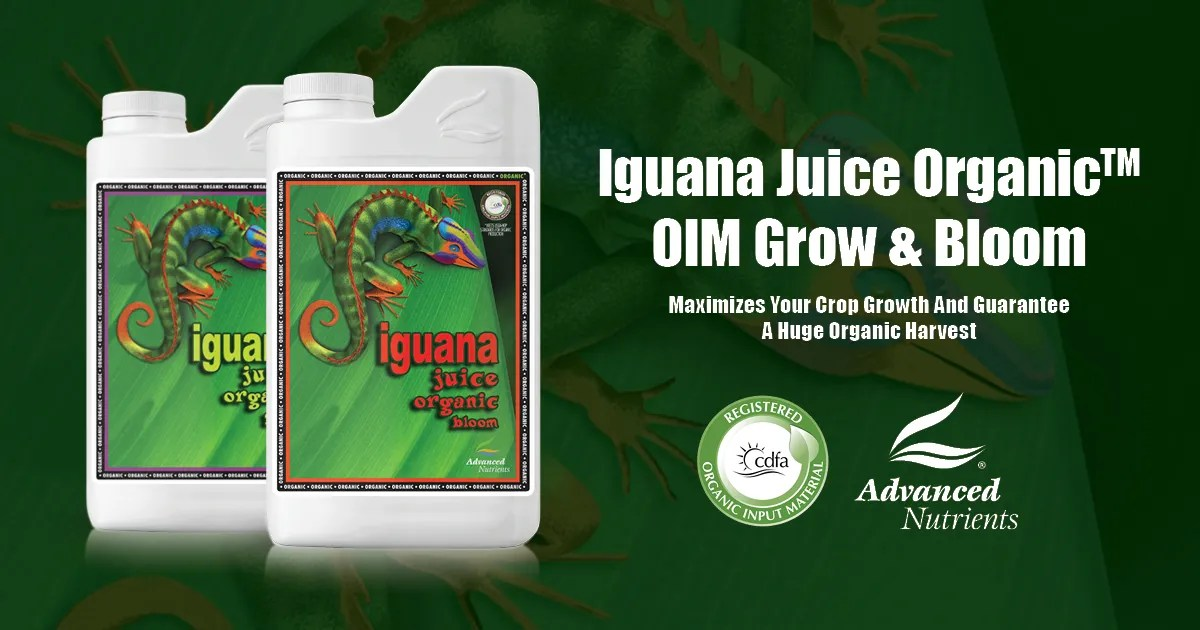 Iguana Juice Organic™ OIM 1-Part Organic Base Nutrients Advanced
