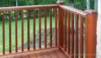 Ipe Decking Handrail - Ipe Balusters