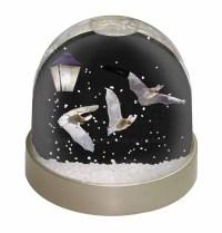 Bats by Lantern Night Light Photo Snow Globe Waterball ...