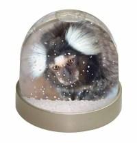 Marmoset Monkey Photo Snow Globe Waterball Stocking Filler ...