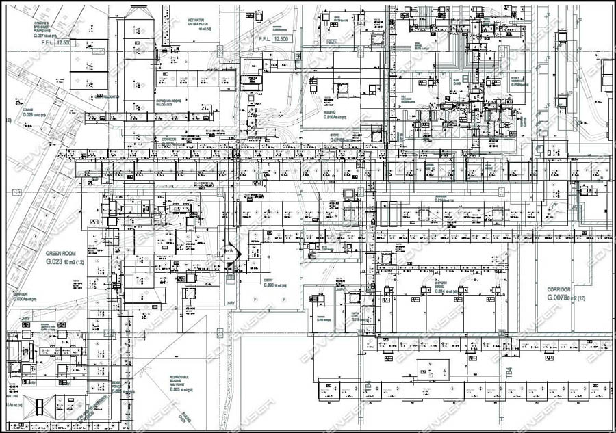 MEP/HVAC Shop Drawings Services ductwork, plumbing, piping  more