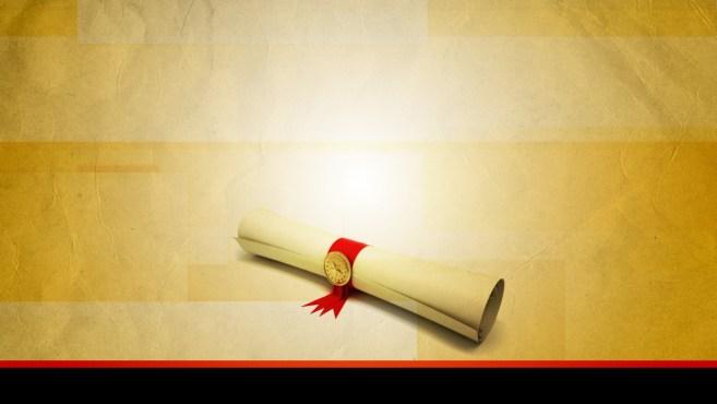 afgestudeerd diploma promotie