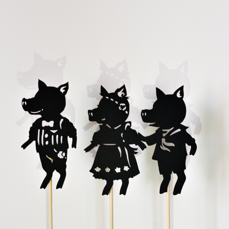 The Three Little Pigs Puppets Set