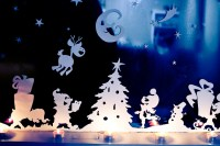 Christmas Window Decorations - Adventure in a Box