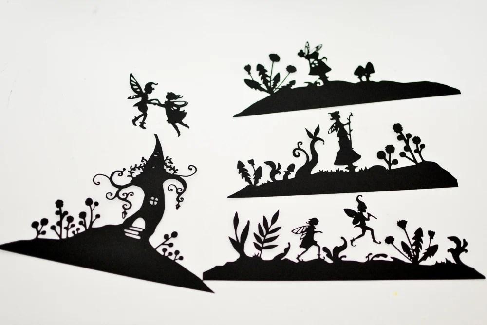 Fairyland Lanterns Printable Silhouettes Adventure in a Box