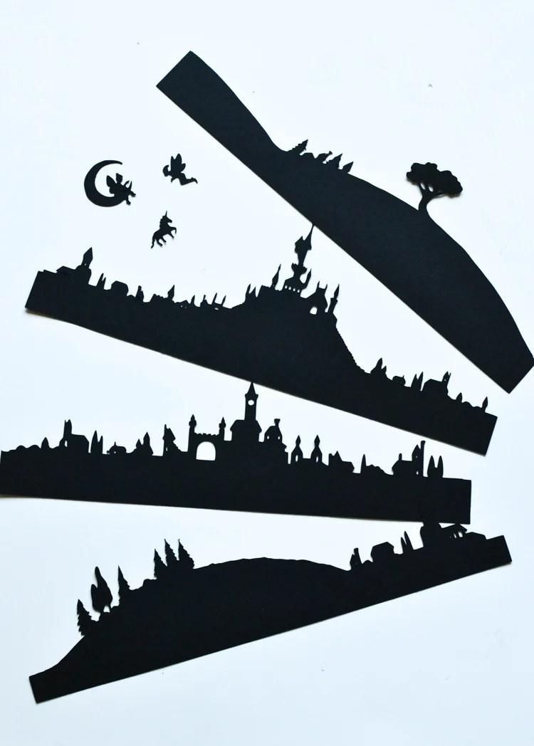 Fairy-Tale Lanterns Printable Silhouettes Adventure in a Box