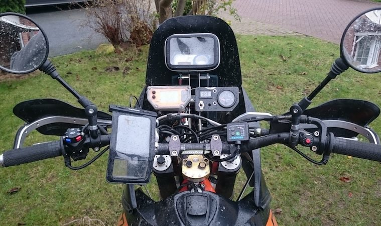 How to fit heated grips to your motorcycle Adventure Bike Rider