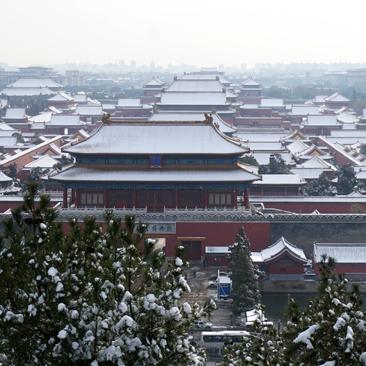 Beijing in White