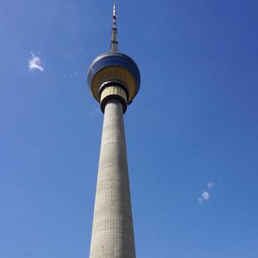 Above Beijing in the CCTV Tower