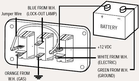 dutchmen water heater switch wiring diagram