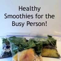 Healthy Smoothies for the Busy Person