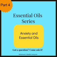Anxiety and Essential Oils