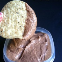 Black Bean and Roasted Red Pepper Hummus